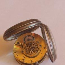Relojes de pared: RELOJ DE BOLSILLO ACHARD IN FILS A GENEVE PLATA MACIZA 1840. Lote 271937608