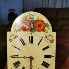 Relojes de pared: ANTIGUO RELOJ RATERA DE COLGAR EN PARED O MUEBLE RELOJERO PARA RESTAURAR O PIEZAS. Lote 272742948