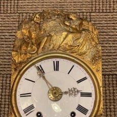 Orologi da parete: ANTIGUO RELOJ DE PARED , CARGA MANUAL CON SONERIA. Lote 274203463