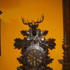 Relojes de pared: RELOJ CUCU CUCO FUSEE SELVA NEGRA. Lote 274333013