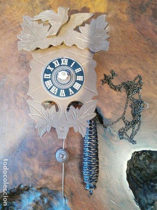 RELOJ DE CUCO PEQUEÑO, SELVA NEGRA (Relojes - Pared Carga Manual)