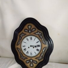 Relojes de pared: ANTIGUO RELOJ OJO DE BUEY CON NÁCAR SIGLO XIX. Lote 275291788
