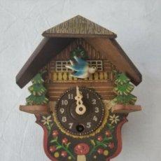 Relojes de pared: BONITO RELOJ DE CUCO. Lote 276024303