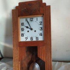 Relojes de pared: ANTIGUO RELOJ DE PARED DE PÉNDULO CON SONERIA. Lote 276152063