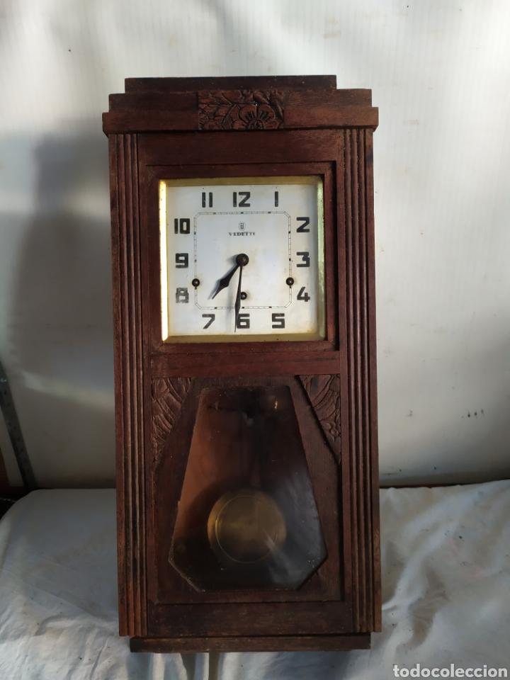 ANTIQUÍSIMO RELOJ CARRILLÓN SONERIA A CUARTOS (Relojes - Pared Carga Manual)