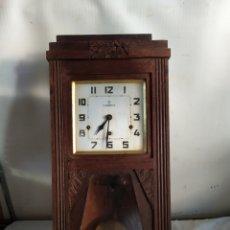 Horloges murales: ANTIQUÍSIMO RELOJ CARRILLÓN SONERIA A CUARTOS. Lote 276154728