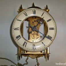 Relógios de parede: RELOJ DE PARED FRANZ HERMLE 791-781 A, MADE IN GERMANY. Lote 276186693