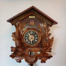 Horloges murales: RELOJ DE CUCO, SELVA NEGRA, ALEMANIA,MAQUINARIA REGULA. Lote 276467168