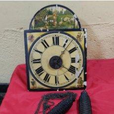 Horloges murales: BONITA RELOJ RATERA MADERA POR RESTAURAR (3988/21). Lote 276502133