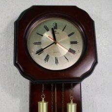 Relojes de pared: RELOJ DE PARED QUARTZ MARCA DEKAR. Lote 276608713