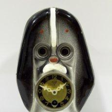 Relojes de pared: RELOJ MI-KEN MADE IN JAPAN. MINI RELOJ DE PARED. AÑOS 70´MUEVE LOS OJOS.. Lote 276622068