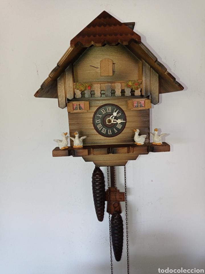 ANTIGUO RELOJ DE CUCO, SELVA NEGRA, ALEMANIA. (Relojes - Pared Carga Manual)