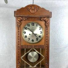 Relojes de pared: ANTIGUO RELOJ DE PARED CON SONERIA. BUEN ESTADO FUNCIONANDO. Lote 277599313