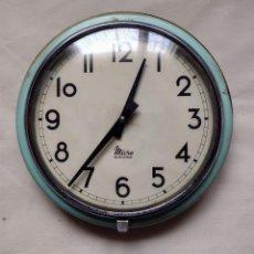 Relojes de pared: RELOJ DE PARED VINTAGE MICRO ELECTRIC. Lote 278582688