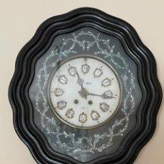 Relojes de pared: RELOJ DE PARED DE CUERDA. Lote 279457038