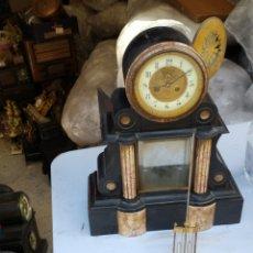 Relojes de pared: FABULOSO RELOJ ESCAPE VISTO. Lote 279585863