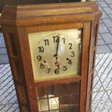 Relojes de pared: IMPRESIONANTE RELOJ CARRILLÓN WESTMINSTER SONERIA CUARTOS FUNCIONA. Lote 279795438