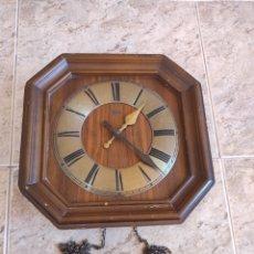 Relojes de pared: ANTIGUO RELOJ DE PARED PONTINA - LEER DESCRIPCIÓN -. Lote 280218423