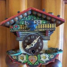 Relojes de pared: PEQUEÑO RELOJ CUCU PARA RESTAURAR O RECAMBIOS. Lote 280291283