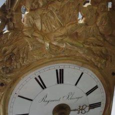 Relojes de pared: RELOJ PARED MORETZ RAYMOND SCHRINGER-À CELLES FRANCÉS SIGLO XIX. Lote 280344023