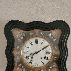 Orologi da parete: RELOJ OJO DE BUEY ISABELINO MÁQUINA MOREZ SIGLO XIX FUNCIONANDO BIEN. Lote 282492103