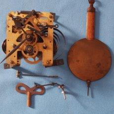 Relojes de pared: RELOJ DE PARED COMPLETO, SIN LA CAJA (VER FOTOS PARA DESCRIPCIÓN). Lote 283658923