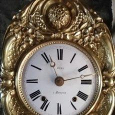 Orologi da parete: RELOJ MOREZ AUTÓMATA MOVIMIENTO BALANCÍN. Lote 283745398
