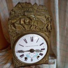 Relojes de pared: BONITO Y ANTIGUO RELOJ ,MOREZ ? RAIGNAC ET GINESTE PARA PIEZAS O RESTAURAR. Lote 284381233