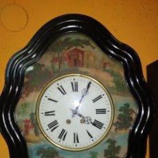 Relojes de pared: RELOJ OJO DE BUEY PINTADO. Lote 284515658