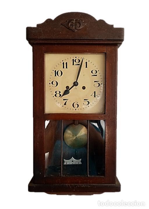 RELOJ JUNGHANS MAQUINARIA ORIGINAL F.S.XIX (Relojes - Pared Carga Manual)