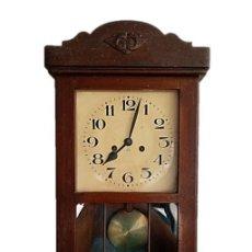 Relojes de pared: RELOJ JUNGHANS MAQUINARIA ORIGINAL F.S.XIX. Lote 284567823