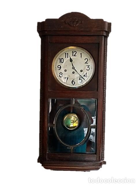 Relojes de pared: RELOJ JUNGHANS MAQUINARIA ORIGINAL F.S.XIX - Foto 4 - 284567823