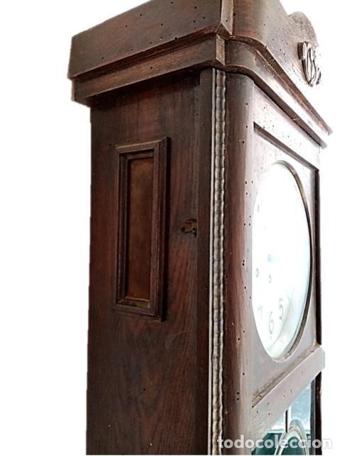 Relojes de pared: RELOJ JUNGHANS MAQUINARIA ORIGINAL F.S.XIX - Foto 6 - 284567823