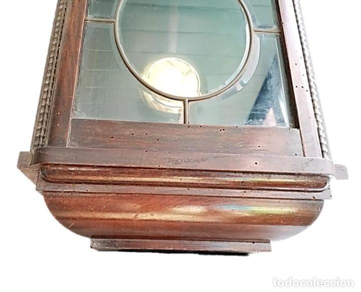 Relojes de pared: RELOJ JUNGHANS MAQUINARIA ORIGINAL F.S.XIX - Foto 7 - 284567823