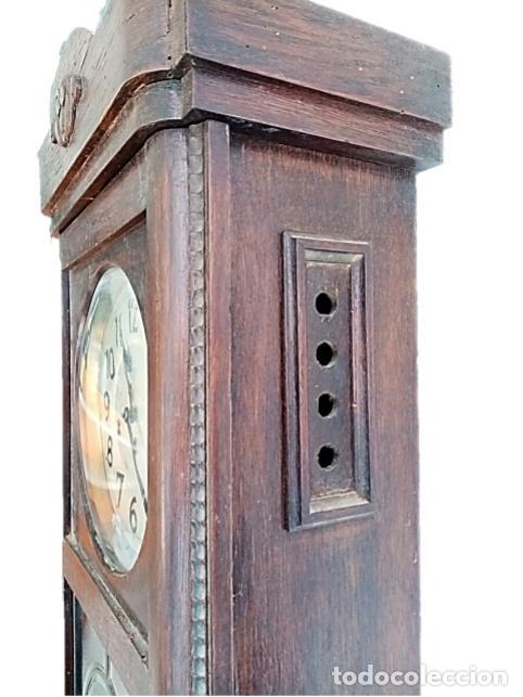 Relojes de pared: RELOJ JUNGHANS MAQUINARIA ORIGINAL F.S.XIX - Foto 8 - 284567823