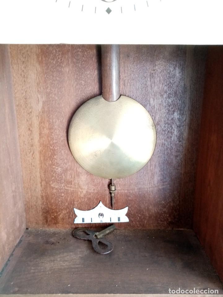 Relojes de pared: RELOJ JUNGHANS MAQUINARIA ORIGINAL F.S.XIX - Foto 9 - 284567823