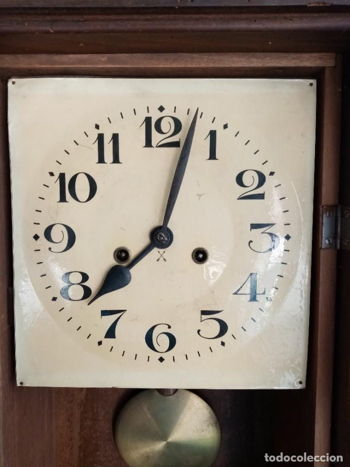 Relojes de pared: RELOJ JUNGHANS MAQUINARIA ORIGINAL F.S.XIX - Foto 10 - 284567823