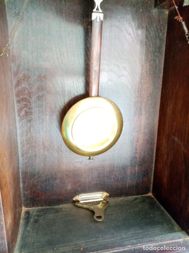 Relojes de pared: RELOJ JUNGHANS MAQUINARIA ORIGINAL F.S.XIX - Foto 11 - 284567823