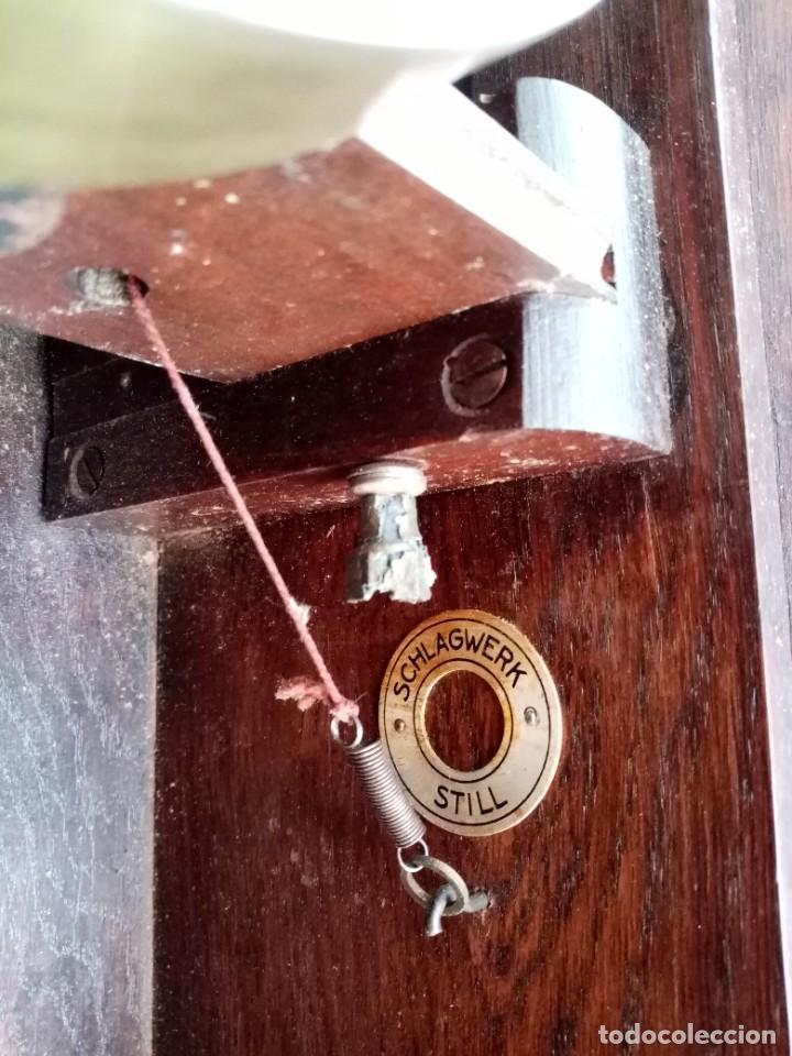 Relojes de pared: RELOJ JUNGHANS MAQUINARIA ORIGINAL F.S.XIX - Foto 14 - 284567823