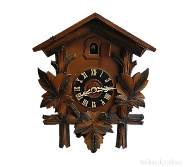 RELOJ CUCO HUBERT HERR TRIBERG, ALEMANIA P.S.XX (Relojes - Pared Carga Manual)