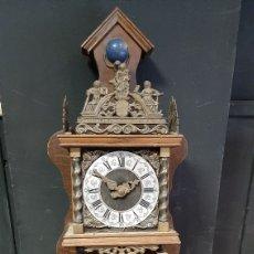 Relógios de parede: RELOJ DE PARED HOLANDÉS. Lote 285376373