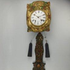Relógios de parede: ANTIGUO RELOJ DE PARED ESTILO MOREZ AUPECH DIJON. Lote 285489308