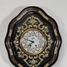 Relojes de pared: RELOJ DE PARED - OJO DE BUEY - MARCA NACAR - CARGA MANUAL - COMPLETO - FUNCIONA. Lote 285963253