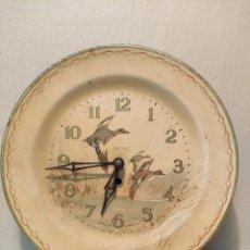 Orologi da parete: RELOJ DE PARED SMITH INGLÉS. NO FUNCIONA, NO SÉ QUE LE PASA. Lote 286184863