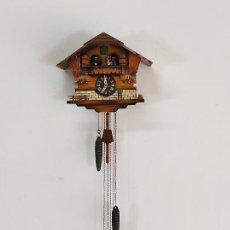 Relojes de pared: RELOJ DE PARED, CUCO - SELVA NEGRA, ALEMANIA - MARCA JEC, SCHWEIZERKLÄNGE. Lote 287256068