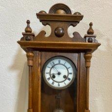 Relojes de pared: RELOJ DE PARED ALFONSINO EN BUEN ESTADO.. Lote 287418993