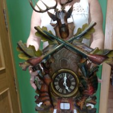 Relojes de pared: ESPECTACULAR,RELOJ DE CUCO CON MAQUINARIA REGULA FABRICADO EN ALEMANIA EN LA SELVA NEGRA. Lote 287472473