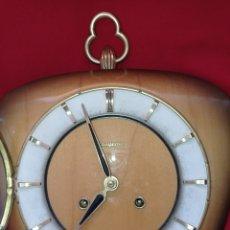 Relojes de pared: RELOJ NÁUTICO DE PARED, MAQUINARIA FHS, FABRICADO EN ALEMANIA, AÑO 1960. Lote 287488058