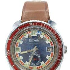 Relojes de pared: RELOJ DOXAN 15 RUBIS. FUNCIONANDO. Lote 287490313