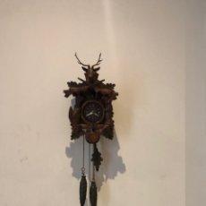 Relógios de parede: ANTIGUO RELOJ CUCO MADE IN GERMANY FUNCIONA. VER FOTOS. Lote 287593003